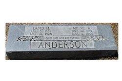 Minnie A. <i>Kelly</i> Anderson