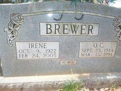 Irene L. <i>Dillion</i> Brewer