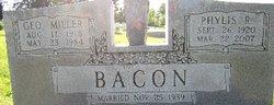 Phylis Ruth <i>Farley</i> Bacon