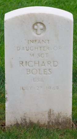 Infant Daughter Boles