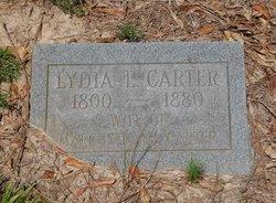 Lydia Elizabeth <i>Williams</i> Carter