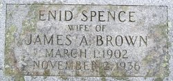 Enid <i>Spence</i> Brown