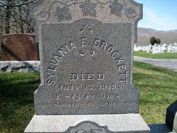 Sylvania E. <i>Sherer</i> Crockett