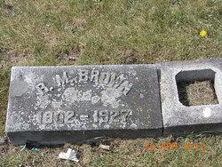 Rufus Middaugh R.M. Brown