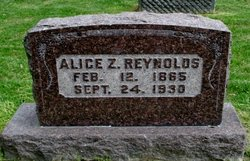 Alice Z Reynolds
