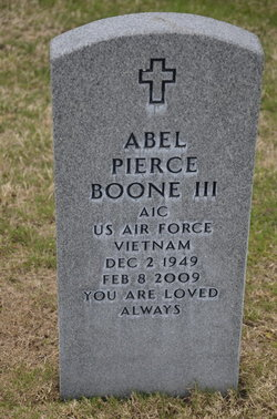 Abel Pierce Boone, III