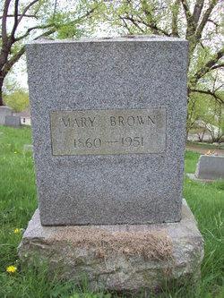 Mary <i>Hayden</i> Brown