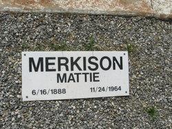 Mattie <i>Reynolds</i> Merkison