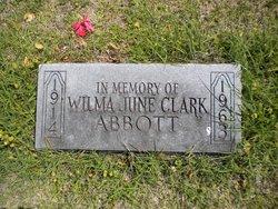 Wilma June <i>Clark</i> Abbott