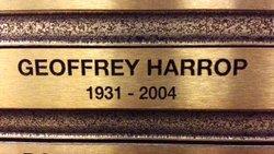 Geoffrey Albert John Harrop