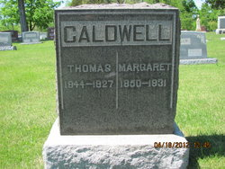 Margaret A <i>Laffoon</i> Caldwell