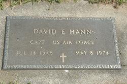 Capt David E. Hann