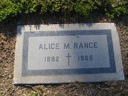 Alice M. Rance