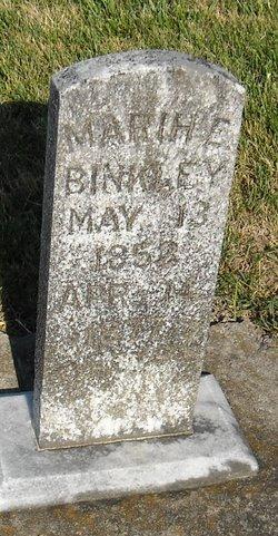 Mariah E Binkley