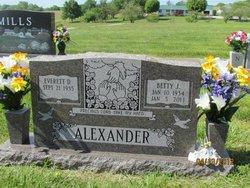 Betty J Alexander