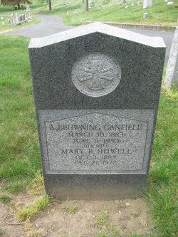 Mary R <i>Howell</i> Canfield