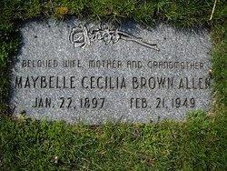 Maybelle Cecilia <i>Brown</i> Allen
