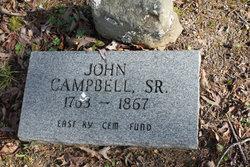 John Campbell, Sr
