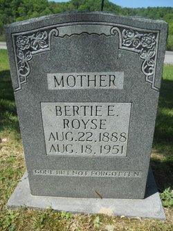 Bertie F. <i>Bowe</i> Royse