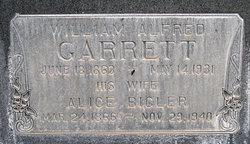 Alice <i>Bigler</i> Garrett