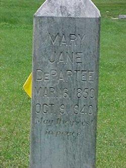 Mary Jane <i>Holden</i> DePartee
