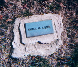 Emma <i>Eckman</i> Arose