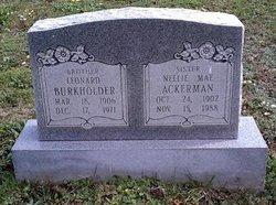 Nellie Mae <i>Burkholder</i> Ackerman