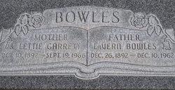 Lettie <i>Garrett</i> Bowles