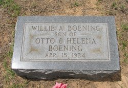 Willie A. Boening