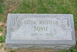 Della <i>Milstead</i> Bowie