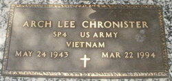 Arch Lee Chronister, Jr