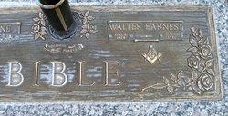 Walter Earnest Bible