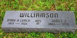 Mary (Marry) Ann <i>Lynch</i> Williamson