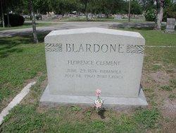 Florence E. <i>Clement</i> Blardone