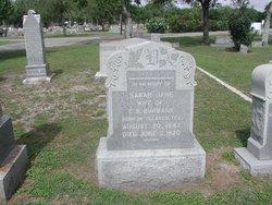 Sarah Jane <i>Clement</i> Burbank