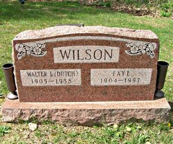 Walter L. Dutch Wilson