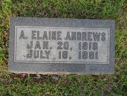 A Elaine Andrews