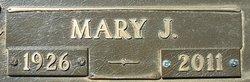 Mary J. <i>Manning</i> Garrison