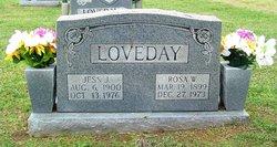 Rosa Mae <i>Wise</i> Loveday