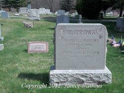 Edith Louise <i>Tucker</i> Burrows