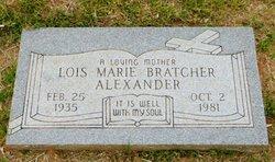 Lois Marie <i>Bratcher</i> Alexander