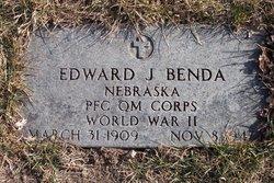 PFC Edward J Benda