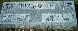 Alice C <i>Tullis</i> Beckwith