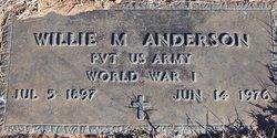 Willie McKinley Anderson