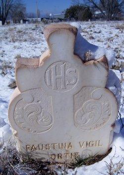 Maria Faustina <i>Vigil</i> Ortiz