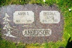 Freida E <i>Lind</i> Anderson