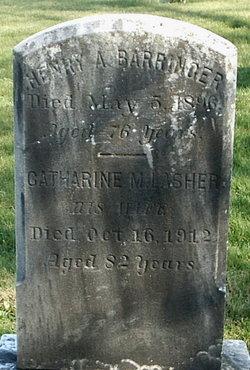 Catherine M <i>Lasher</i> Barringer