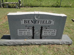 Shirley D Benefield