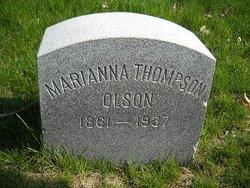 Marianna <i>Thompson</i> Olson