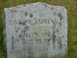 Haven W Andrews, III